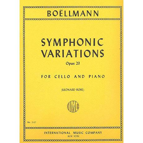 Boellmann, L.: Symphonische Variationen Op. 23