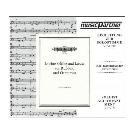 Leichte Stücke und Lieder aus Russland und Osteuropa Compact-Disc CD