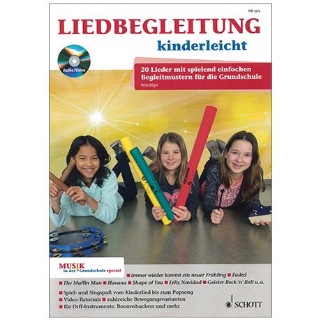 Hügel, P.: Liedbegleitung kinderleicht (+CD)