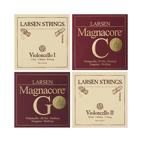 LARSEN Standard/Arioso Cellosaiten SATZ 4/4 | mittel