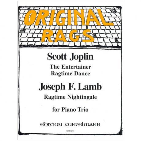 Joplin, S. / Lamb, J. F.: Ragtimes für Klaviertrio