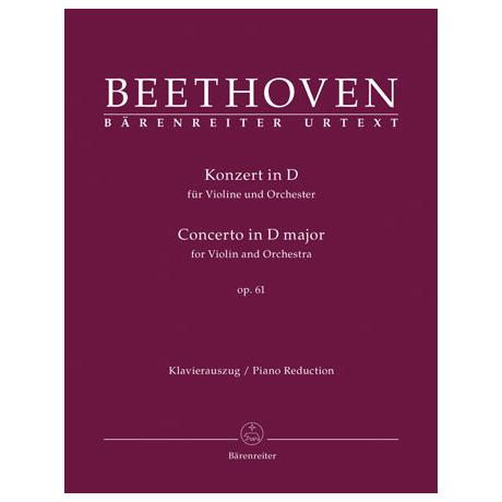 Beethoven, L. v.: Konzert D-Dur op. 61