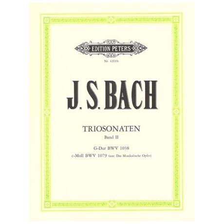 Bach, J.S.: Triosonaten Band 2