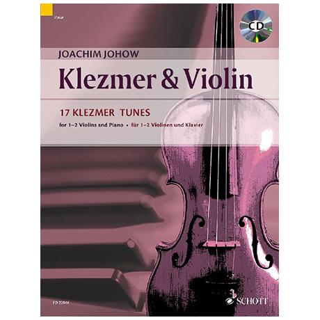 Johow, J.: Klezmer & Violin (+CD)