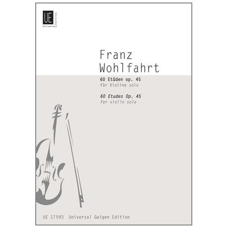 Wohlfahrt, F.: 60 Etueden op.45