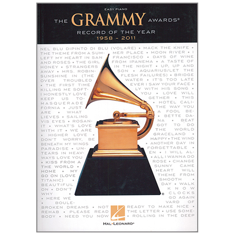 The Grammy Awards Record Of The Year 1958-2011