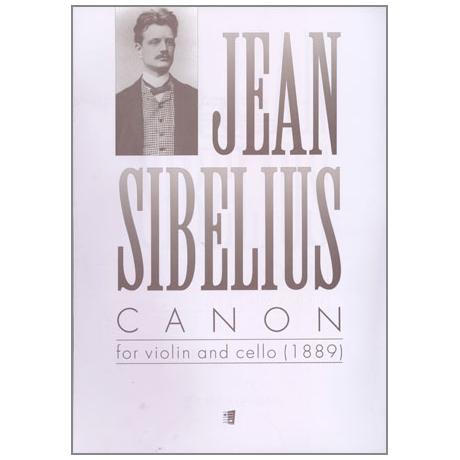 Sibelius, J.: Canon (1889)
