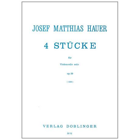 Hauer, J.M.: Vier Stücke
