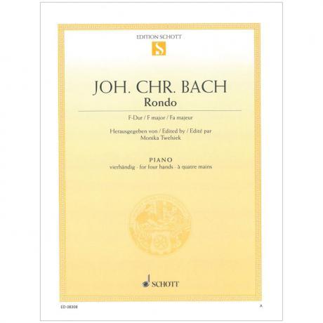 Bach, J. Chr.: Rondo F-Dur