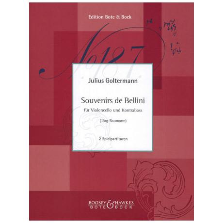 Goltermann, J.: Souvenirs de Bellini