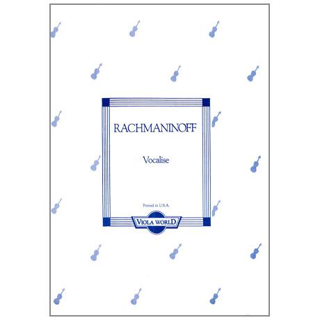 Rachmaninow, S.: Vocalise