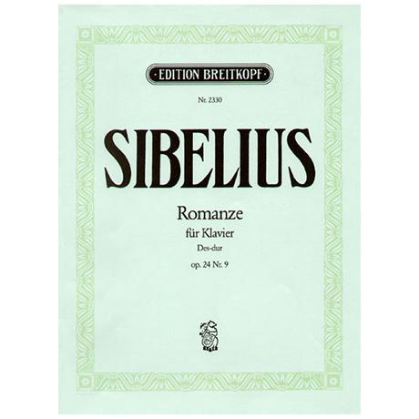 Sibelius, J.: Romanze Des-Dur op. 24/9