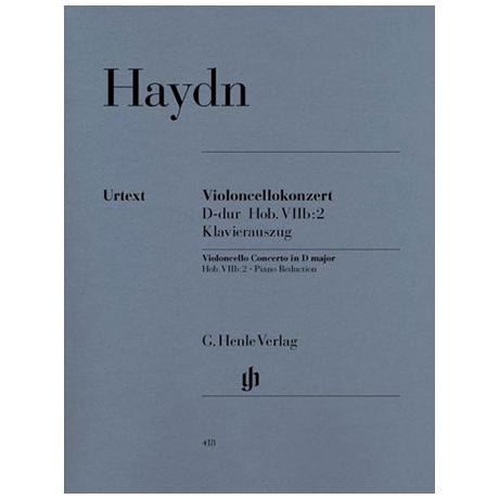 Haydn, J.: Konzert D-Dur, Hob: VIIb:2 Urtext