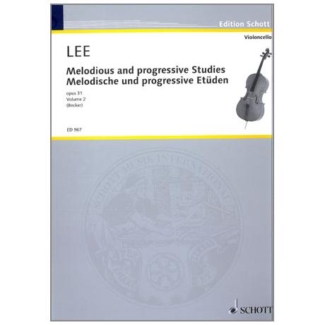 Lee, Sebastian: Melodische und Progressive Etüden op.31 Band 2