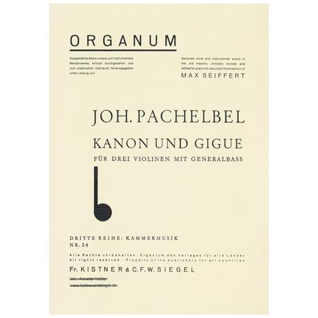 Pachelbel, J.: Kanon & Gigue