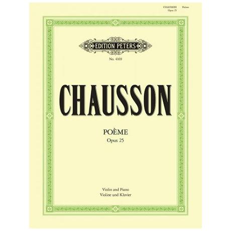 Chausson, E.: Poème Op. 25