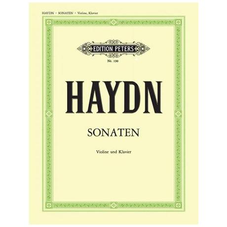 Haydn, J.: Violinsonaten Hob. III: 81 / 82 / XV:32 / XVI:15 / 24-26 / 43