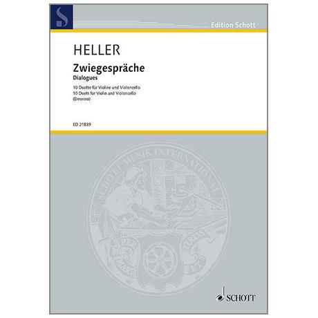Heller, B.: Zwiegespräche – 10 Duette (2013)