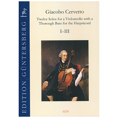 Cervetto, G.: Twelve Solos op. 2 – Sonate I–III