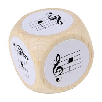 Notenwürfel Violinschlüssel