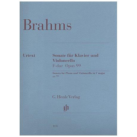 Brahms, J.: Sonate F-Dur Op. 99