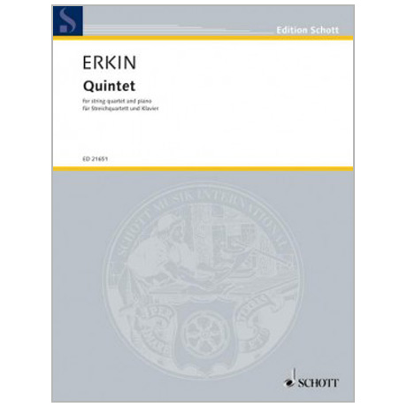 Erkin, U. C.: Klavierquintett »Quintet« (1946)