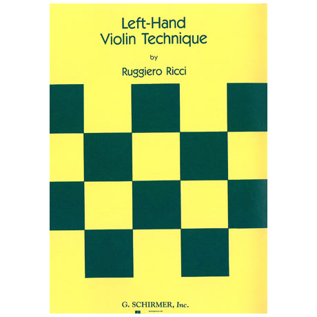 Ricci, Rugiero; Left Hand Violin Techniques