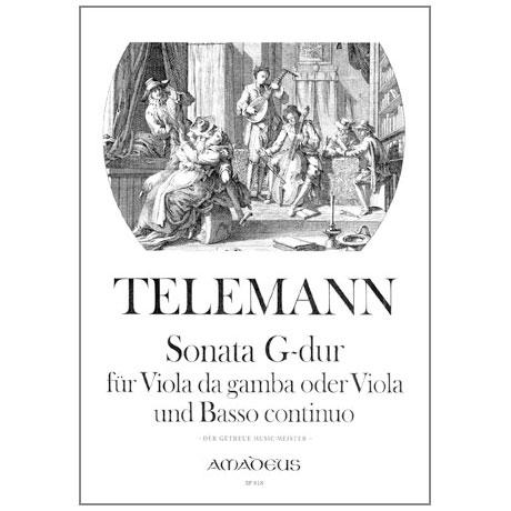 Telemann, G. Ph.: Sonate G-Dur aus der Getreue Music Meister
