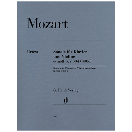Mozart, W. A.: Violinsonate KV 304 (300c) e-Moll