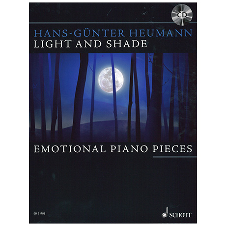 Heumann, H.-G.: Light and Shade – Emotional Piano Pieces (+CD)