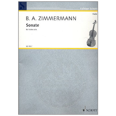 Zimmermann, B. A.: Sonate
