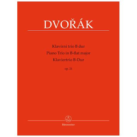 Dvořák, A.: Klaviertrio Op. 21 B-Dur