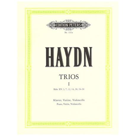 Haydn, J.: Klaviertrios Band 1 Hob. XV:3, 7, 12, 14, 20, 24-30
