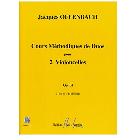 Offenbach, J.: Cours Méthodiques Op. 54