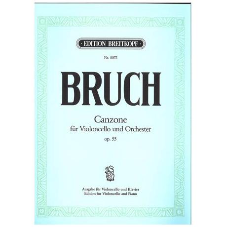 Bruch, M.: Canzone Op.55