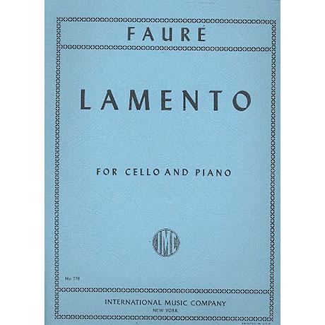 Fauré, G.: Lamento