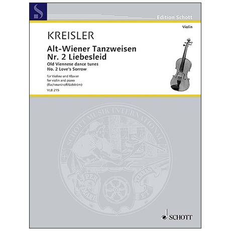 Kreisler, F.:  Alt-Wiener Tanzweisen – Nr. 2 »Liebesleid«