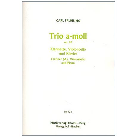 Frühling, C.: Trio Op. 40 a-Moll