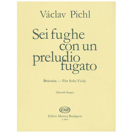 Pichl, V.: Sei fughe con un preludio fugato Op. 41