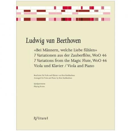 Beethoven, L. v.: »Bei Männern, welche Liebe fühlen« 7 Variationen aus der Zauberflöte WoO 46