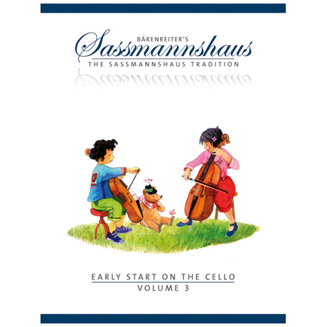 Sassmannshaus, E./Corssen, M.: Early Start on the Cello Volume 3