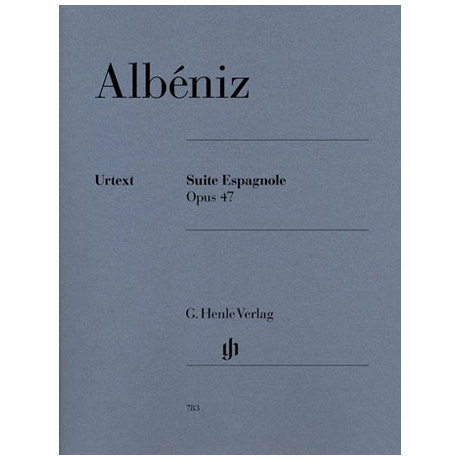 Albéniz, I.: »Suite Espagnole« Op. 47