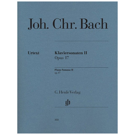 Bach, J. Chr.: Klaviersonaten II Op. 17