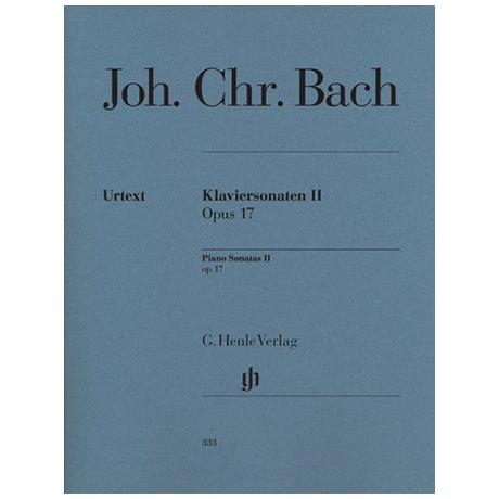 Bach, J. Chr.: Klaviersonaten II Op. 17