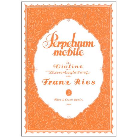 Ries, Franz: Perpetuum mobile