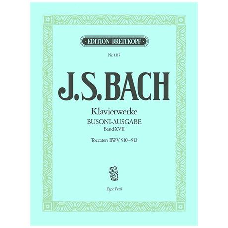 Bach, J.S.: Toccaten BWV 910-913