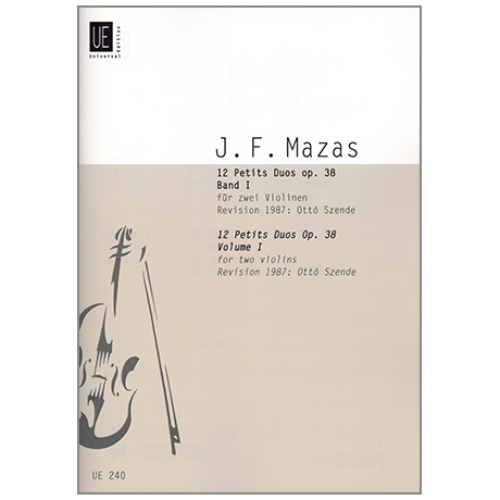Mazas, J. F.: 12 kleine Duette Op. 38 Band 1