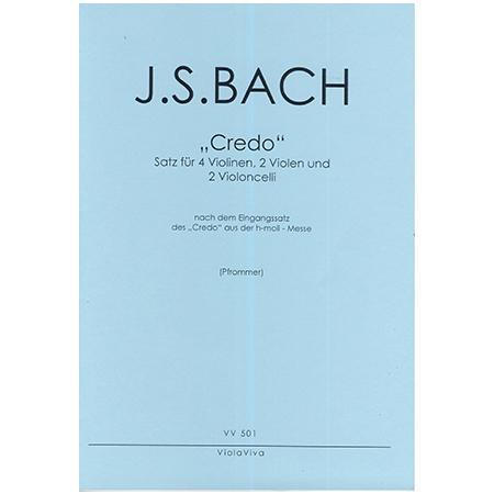 Bach, J. S.: Credo aus der h-Moll Messe BWV 232