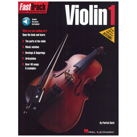 FastTrack – Violin Method 1 (+Online Audio)