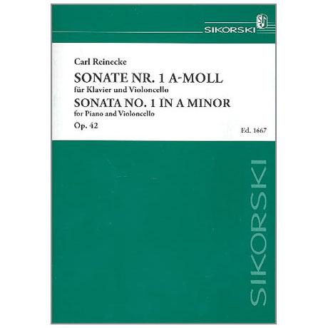 Reinecke, C.: Sonate a-Moll Nr. 1 Op. 42